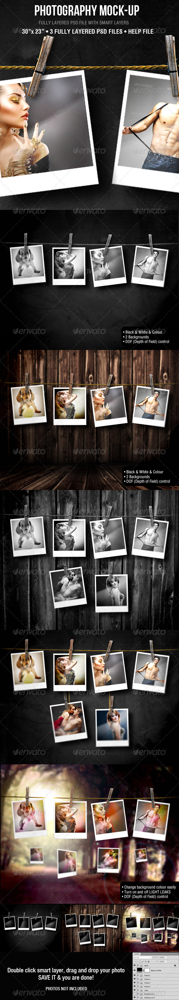 GraphicRiver Photography Mock-up 3455979