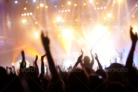 PhotoDune Concert crowd 3475361