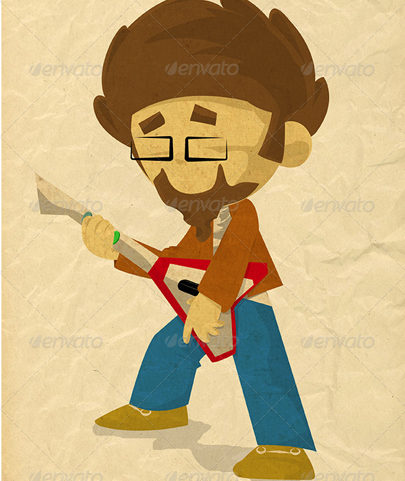 GraphicRiver Guitar Game 3265988