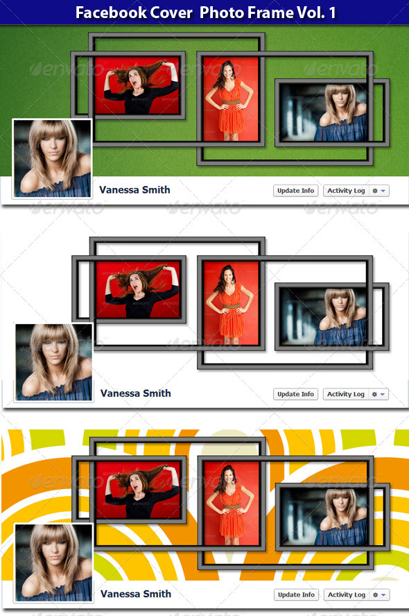GraphicRiver FB Cover Photo Frame vol 1 3475899