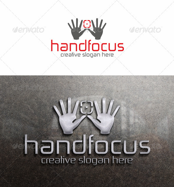 GraphicRiver Manual Focus Photo Logo Template 3476595