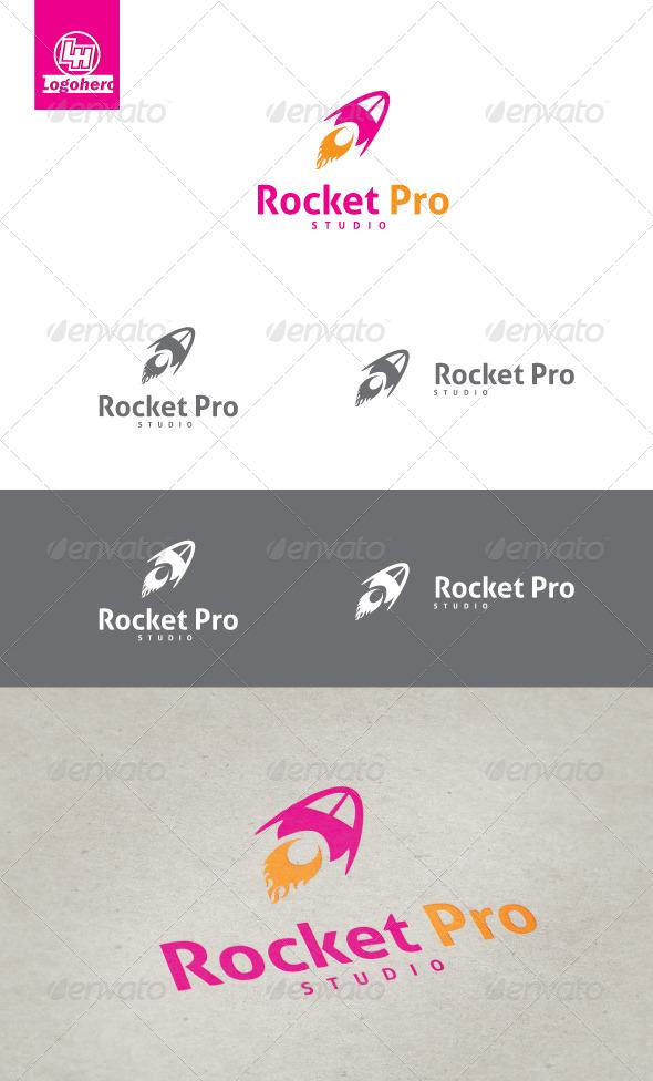 GraphicRiver Rocket Pro Logo Template 3476883