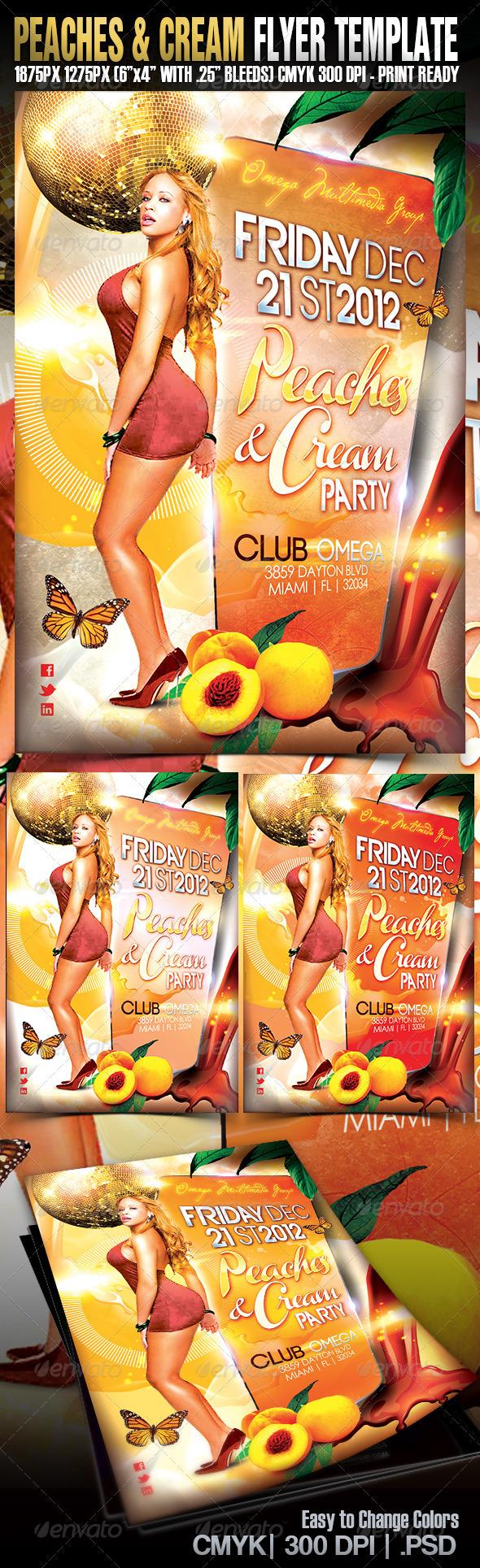 GraphicRiver Peaches & Cream 3476913