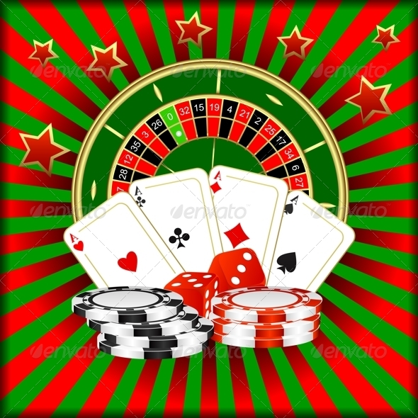 GraphicRiver Composition of a Casino 3477054