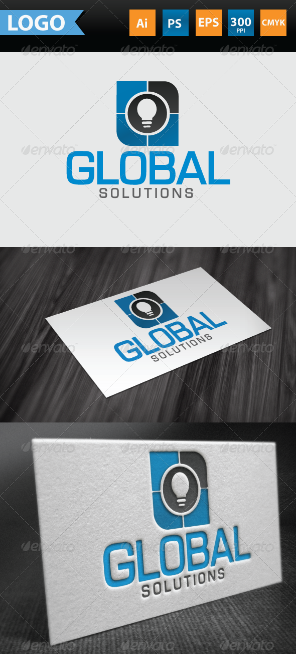 GraphicRiver Global Solutions Logo 3460467