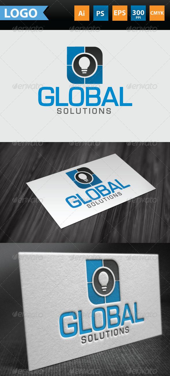 Global Solutions Logo - Symbols Logo Templates