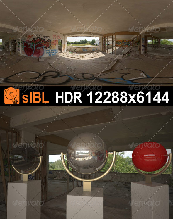 HDR 073 Old Building sIBL