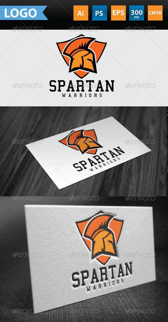 Spartan Warrior Logo - Symbols Logo Templates