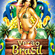 Brazilian Summer Flyer Template - GraphicRiver Item for Sale