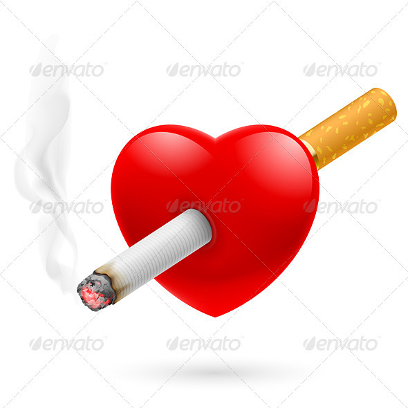 GraphicRiver Smoking Kills the Heart 3478265