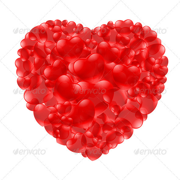 GraphicRiver Heart shape 3478310