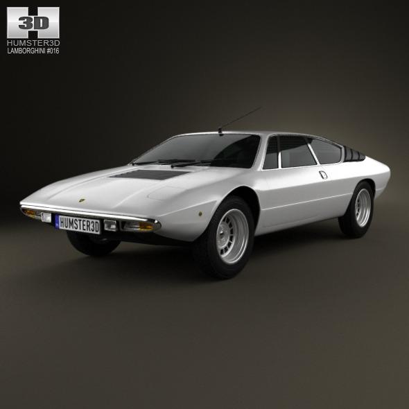 3DOcean Lamborghini Urraco P300 1979 3479181