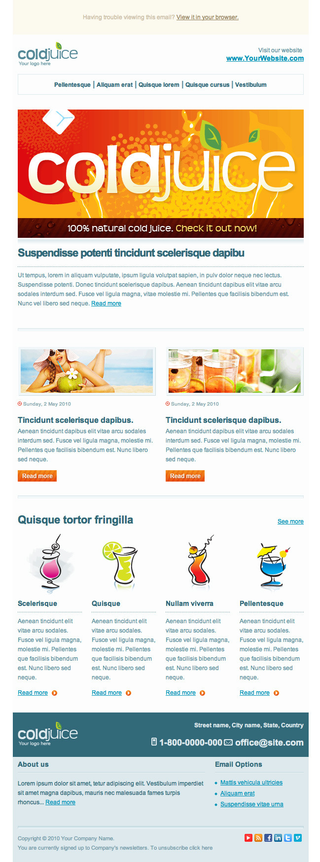 ColdJuice - Professional Email Templates
