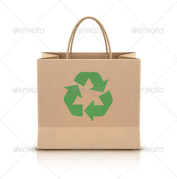 GraphicRiver Eco Shopping Bag 3479239