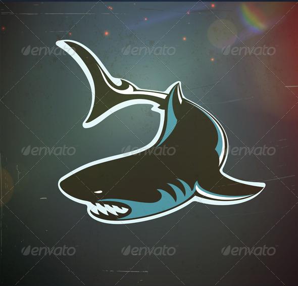 GraphicRiver Angry Shark 3479244