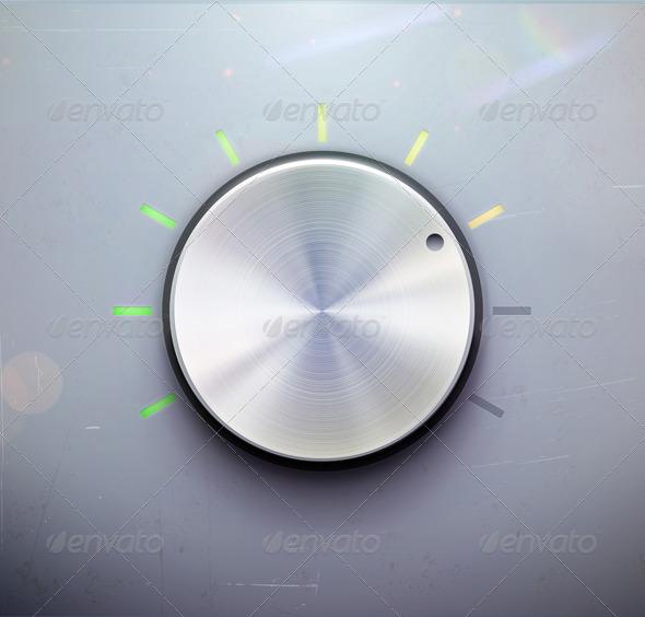 GraphicRiver Control Knob 3479255