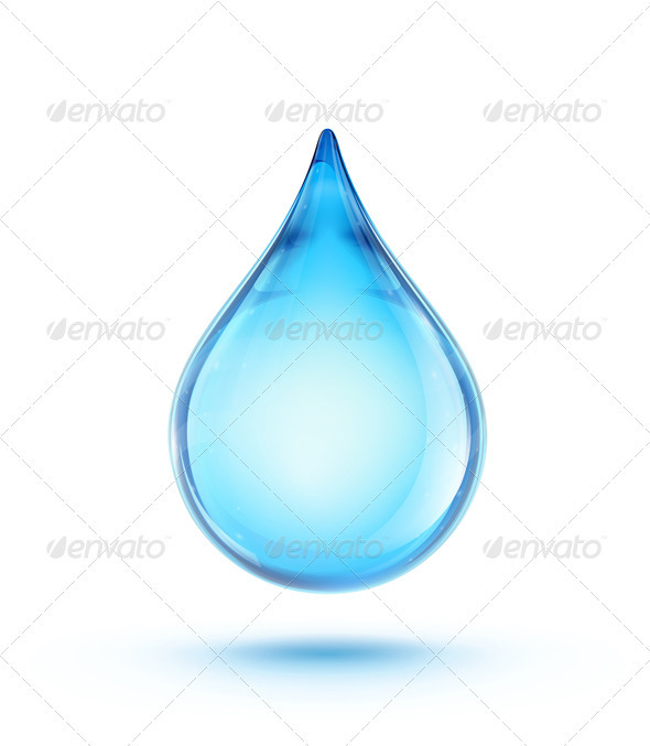 GraphicRiver Water Drop Logo 3479267