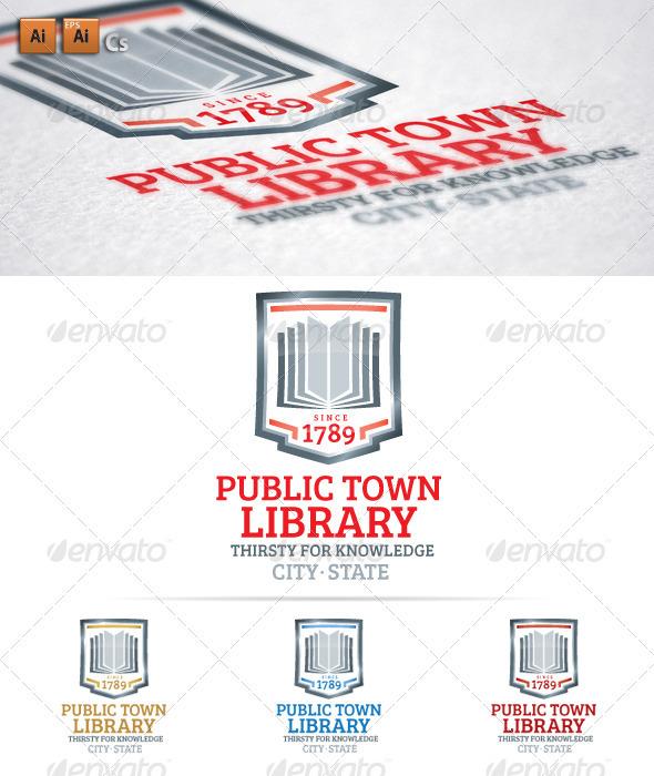 GraphicRiver Public Town Library 3479289