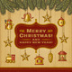 Vintage Christmas Card With Decorations - GraphicRiver Item for Sale