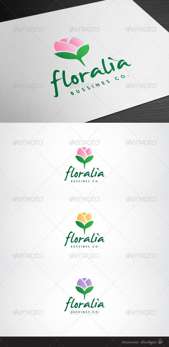 GraphicRiver Floralia Logo 3479395