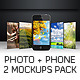 Photo Phone Mockup - GraphicRiver Item for Sale