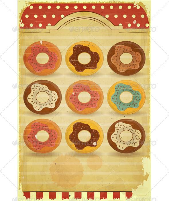 GraphicRiver Vintage Dessert Menu 3480018