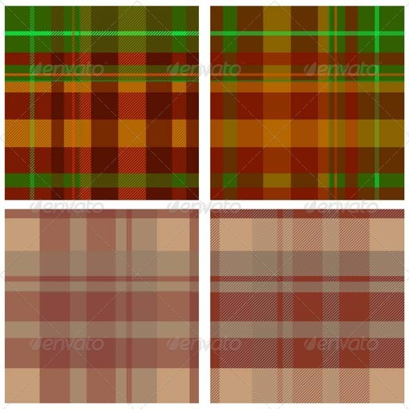 GraphicRiver Textile Seamless Pattern Set 3459120