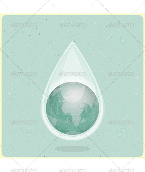 GraphicRiver Eco Water Planet 3480139