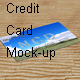 Credit Card Mock-up - GraphicRiver Item for Sale
