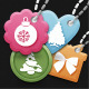 Christmas Cute Icons Tag Set  - GraphicRiver Item for Sale