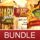 Fall Harvest Flyer Template Bundle - GraphicRiver Item for Sale