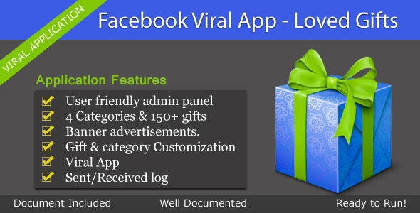 CodeCanyon Facebook Viral App Loved Gifts 3481276