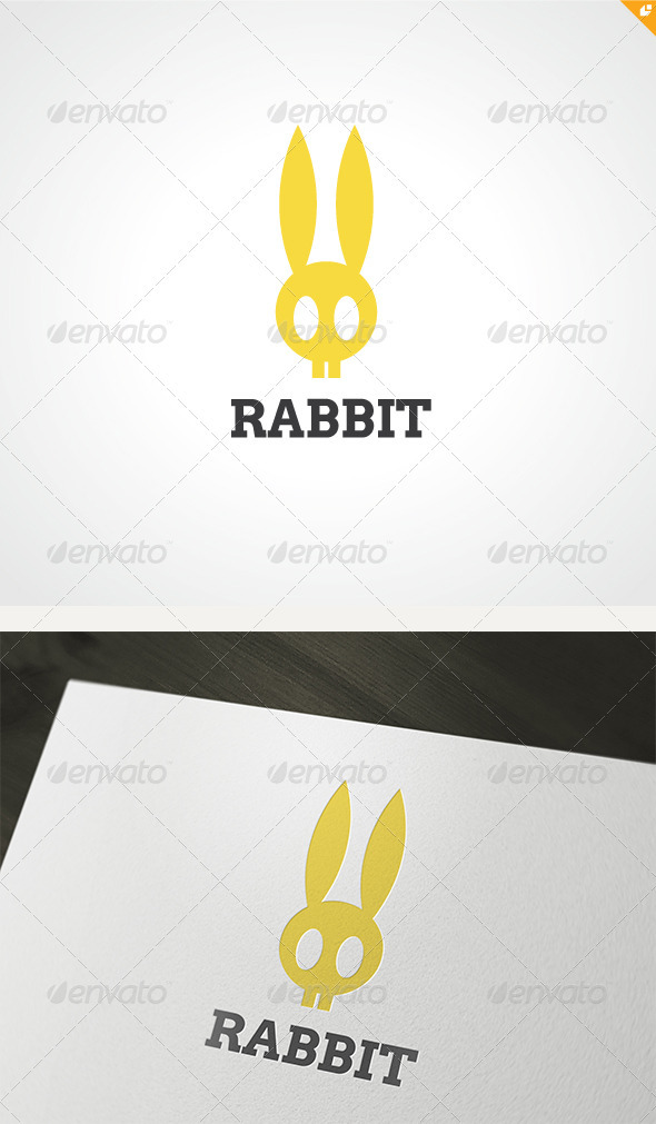 GraphicRiver Rabbit Logo 3465856