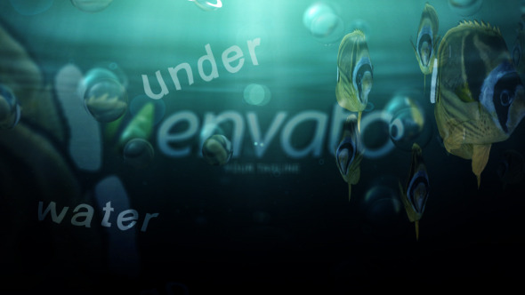 VideoHive Under Water Logo 3481998