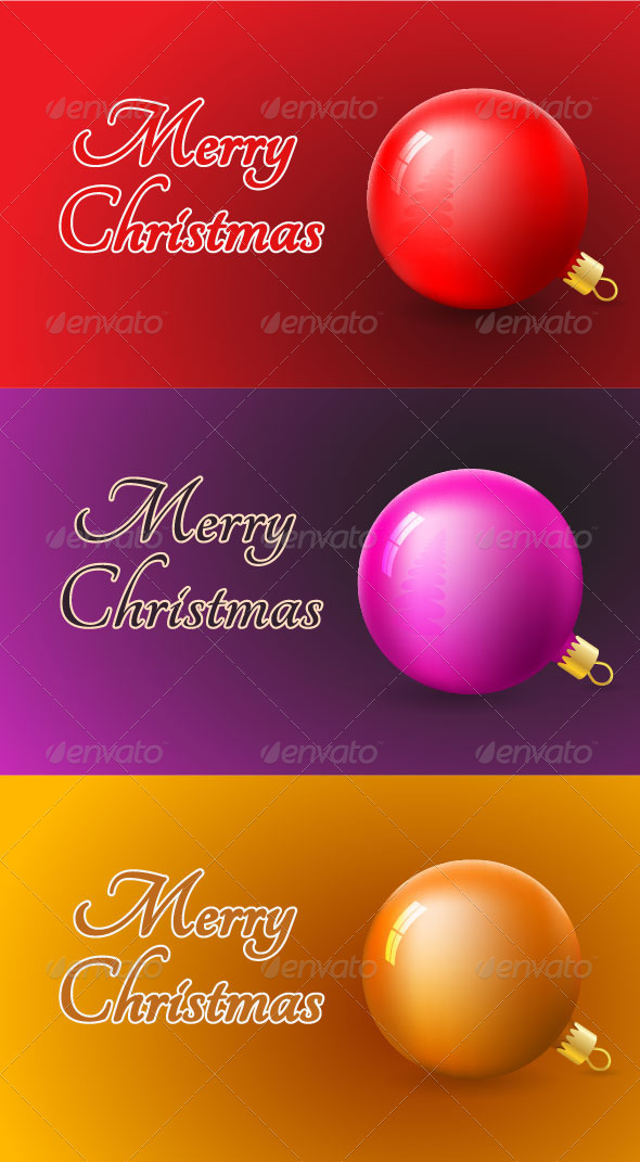 GraphicRiver Christmas Card Templates 3468320