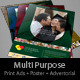 Multipurpose Informational Ad - GraphicRiver Item for Sale