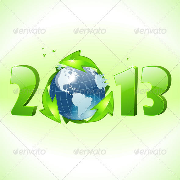 GraphicRiver New Year Concept 3484025