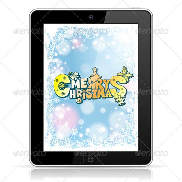 GraphicRiver Christmas Concept 3484042