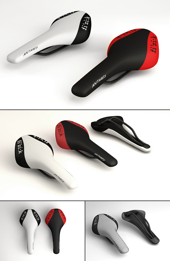 Fizik Antares Bicycle Saddle - 3DOcean Item for Sale