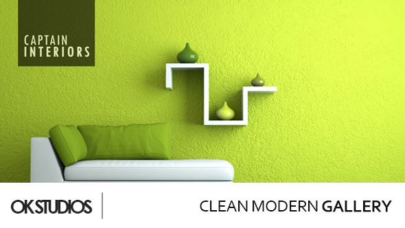 VideoHive Clean Modern Gallery 3485061