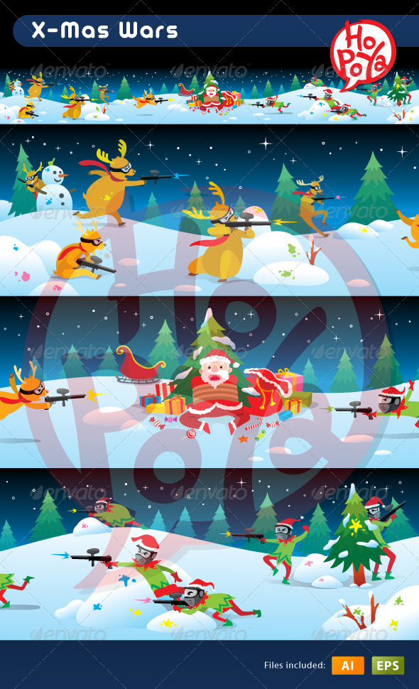 GraphicRiver X-Mas Wars 3485584