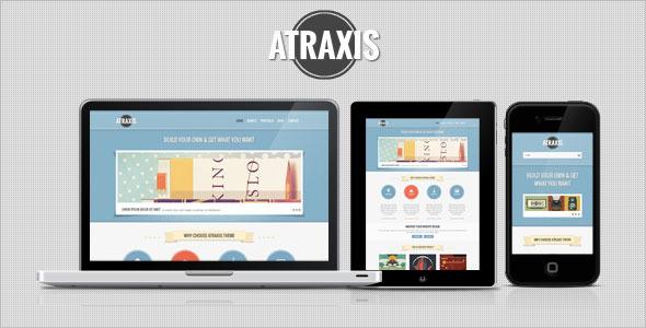Atraxis - Creative Portfolio HTML Template