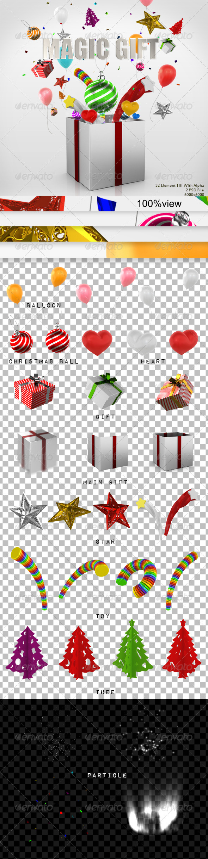 GraphicRiver Magic Gift 3486600