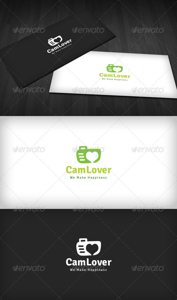 GraphicRiver Camera Lover Logo 3486771