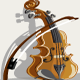 A Violin  - GraphicRiver Item for Sale