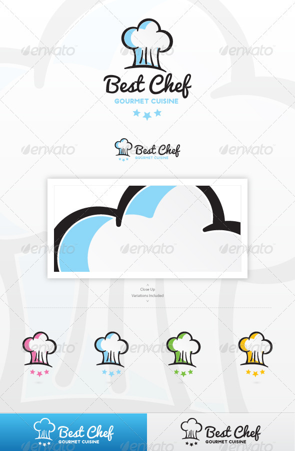 GraphicRiver Best Chef Logo 3488374