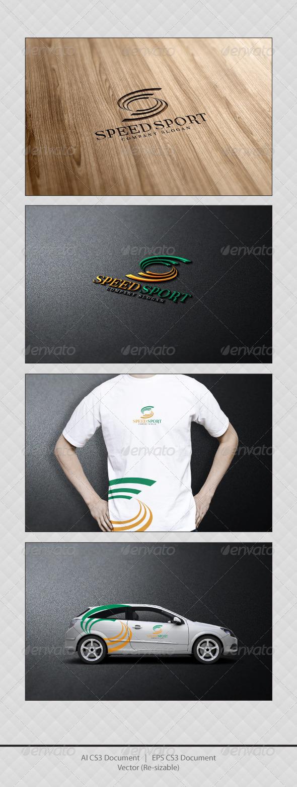 GraphicRiver Speed Sport Logo Templates 3488787