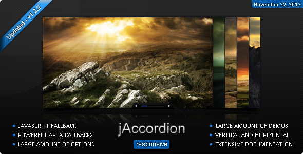 CodeCanyon jAccordion jQuery accordion 512859