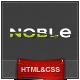 Noble - Responsive Magazine Builder Template Kit - Experimental Creative