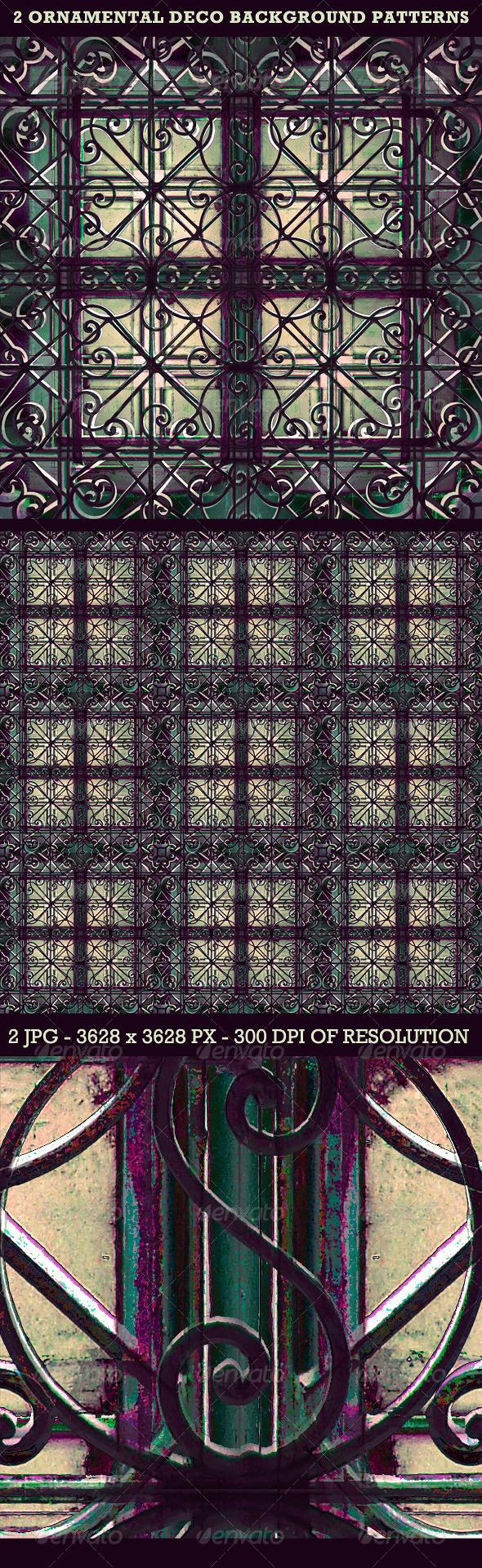 GraphicRiver Ornamental Deco Background Pattern 3488960